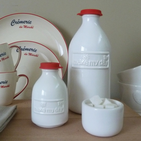 Retro Milk Can Set