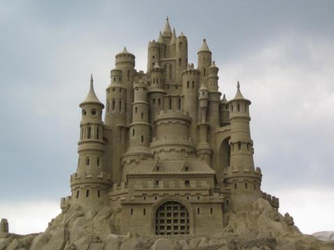 Mega Sand Castle
