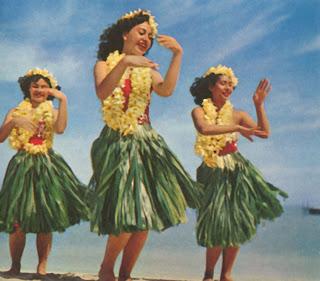 Vintage Hula Dancers