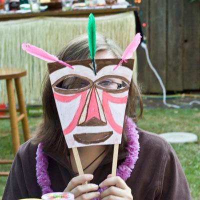 DIY Tiki Masks