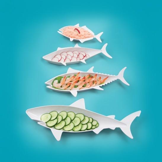 Fish-Shaped-Food-Nesting-Dishes