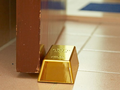 Gold Bar Paperweight
