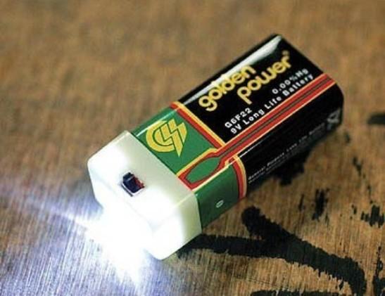 Pak-Lite 9V Battery Light