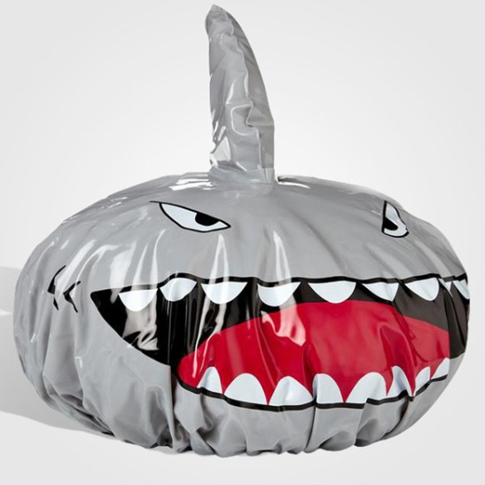 Shark-Fin-Shower-Cap