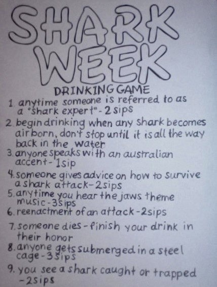 Shark-Week-Drinking-Game