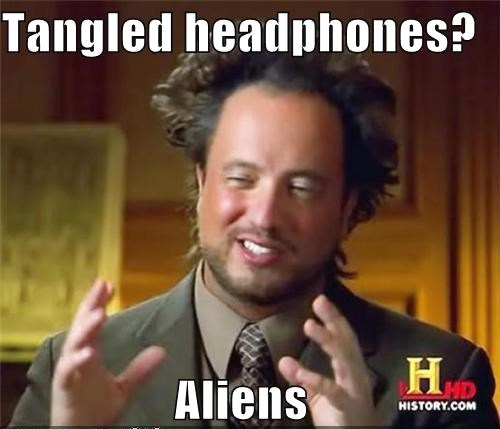 tangled headphones funny meme aliens back to school! 10 must have accessories for college students