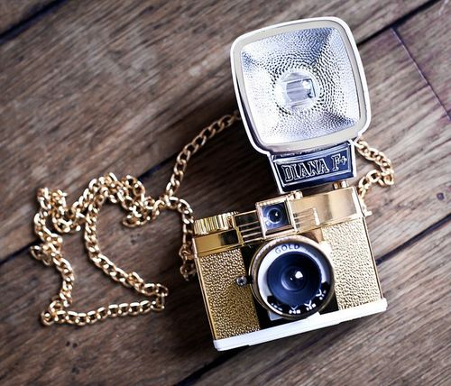 Lomography Diana Baby 110 Gold Edition