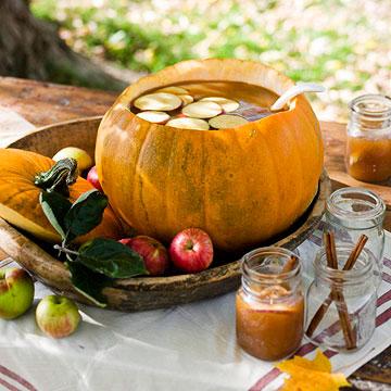 Pumpkin Punch Bowl