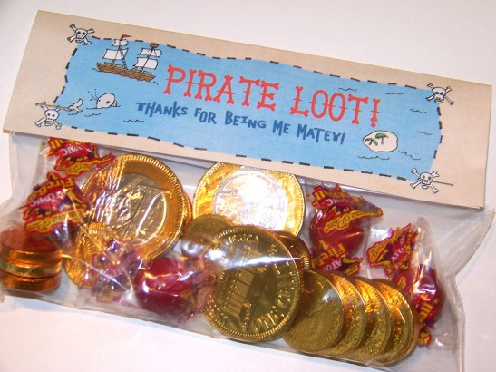 Pirate Gift Bags