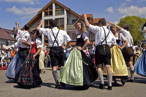 Traditional Bavarian Dance