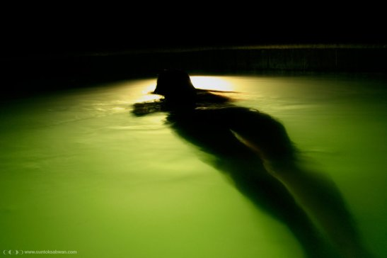 Night Swimming Floating dead body creepy scary urban legends