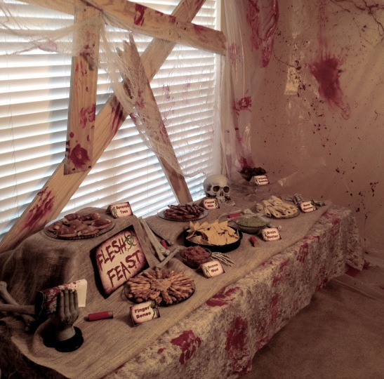 Bloody Zombie Party