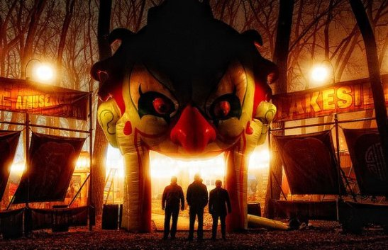 Creepy funhouse