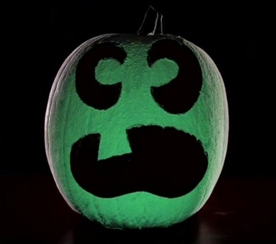 Glowing Pumpkin