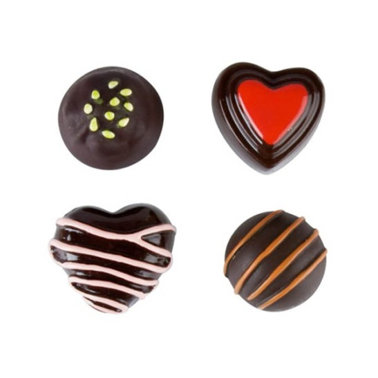 Heart Chocolate Box Magnets
