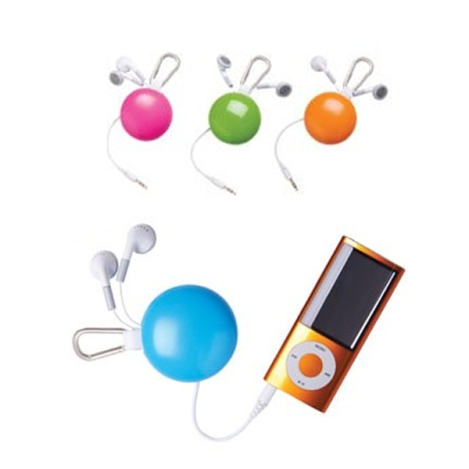 Funkyfonic Retractable Earbuds