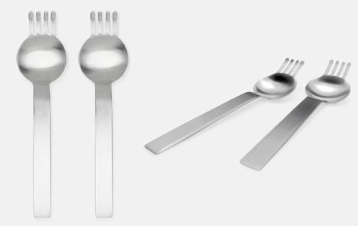 Ramen Spoon Fork