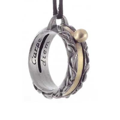 Aquitane Sundial Necklace