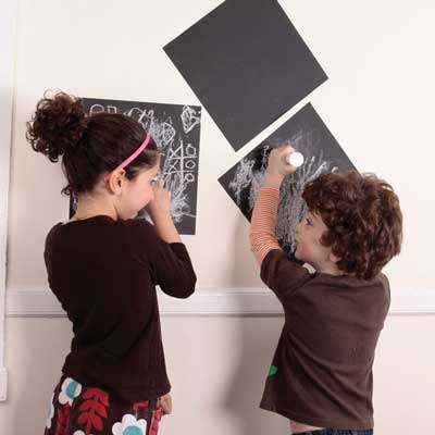 Write on the Wall Chalkboard Squares