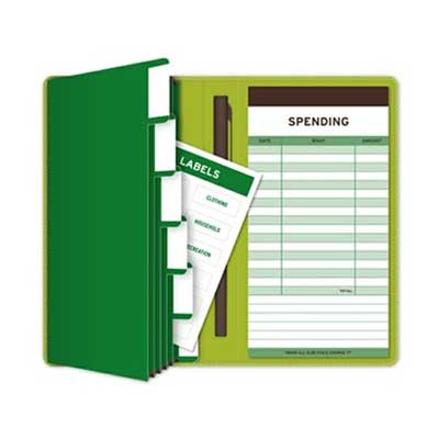 Money Receiptable Organizer