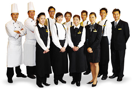 Spaghetti House staff  Waiters And Waitresses Day
