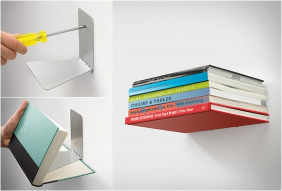Conceal Shelf Invisible Bookshelf