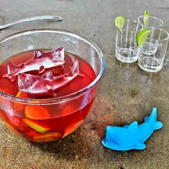 Shark Ice Tray 3D
