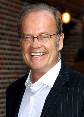 Kelsey Grammer played Dr. Frasier Crane in three separate TV series.