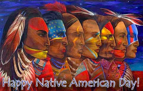 Happy Native Americans' Day!