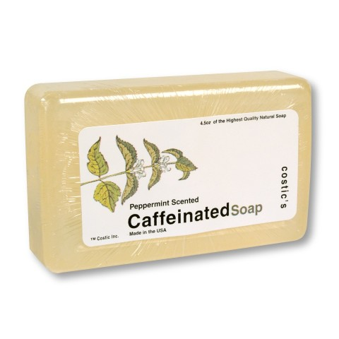 Caffeinated Soap Peppermint Scented