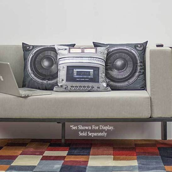 boom box pillow covers