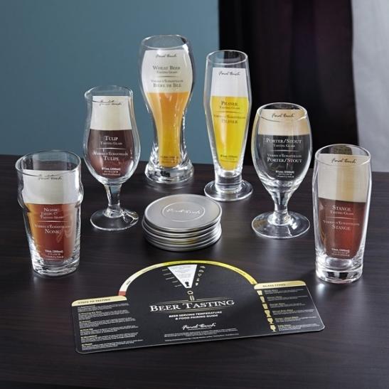 craft beer glass tasting set