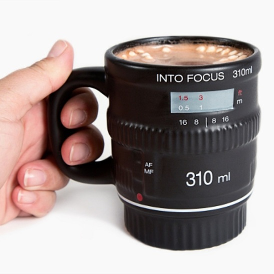 Into Focus Camera Mug