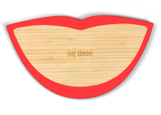 Say Cheese! Smile Cheese Board