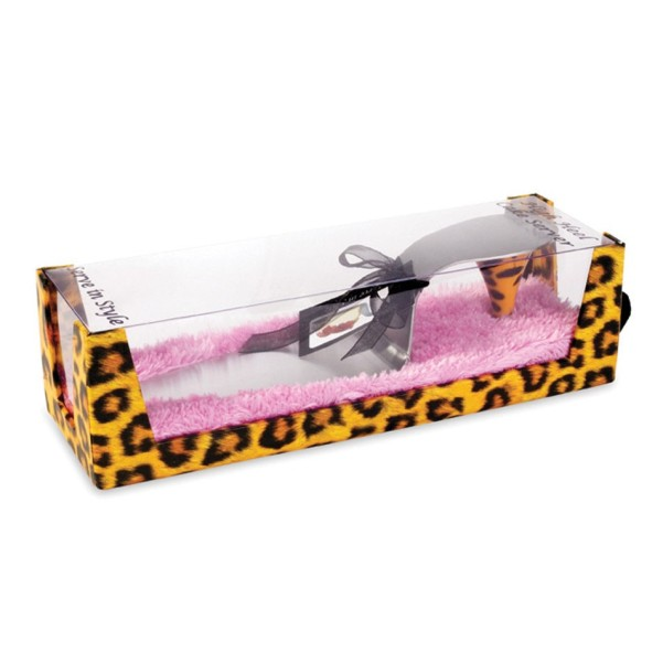 Leopard High Heel Cake Server