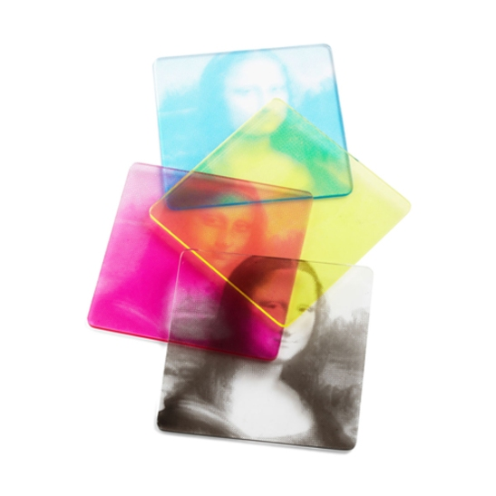 Molla Space CMYK Mona Lisa Coasters
