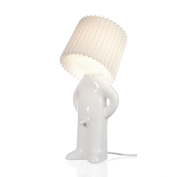 One man shy lamp