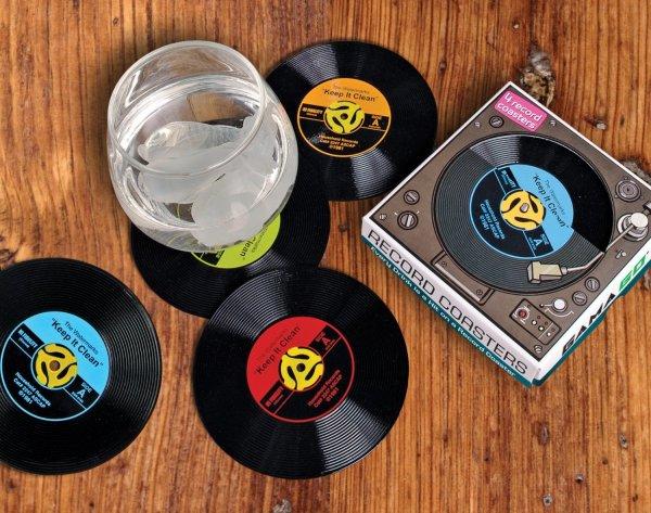 Gamago 45 Record Coasters