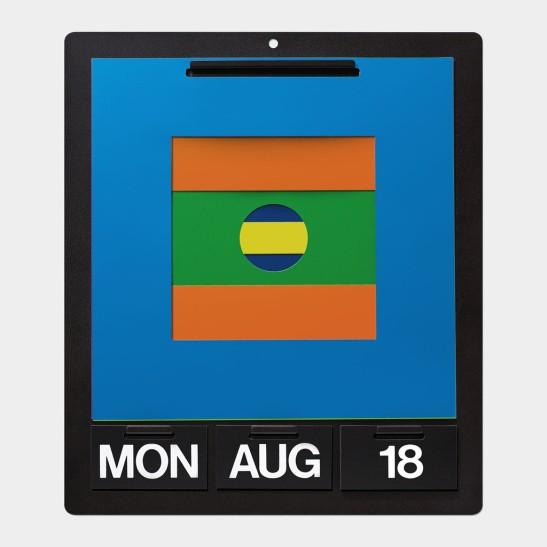 Perpetual Wall Calendar MoMA by Dan Reisinger
