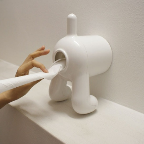 Dog Toilet Roll Holder