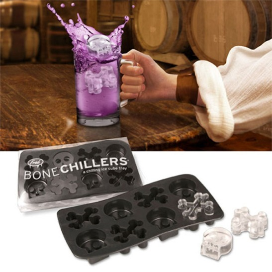 Bone Chillers Skull Ice Cube Tray