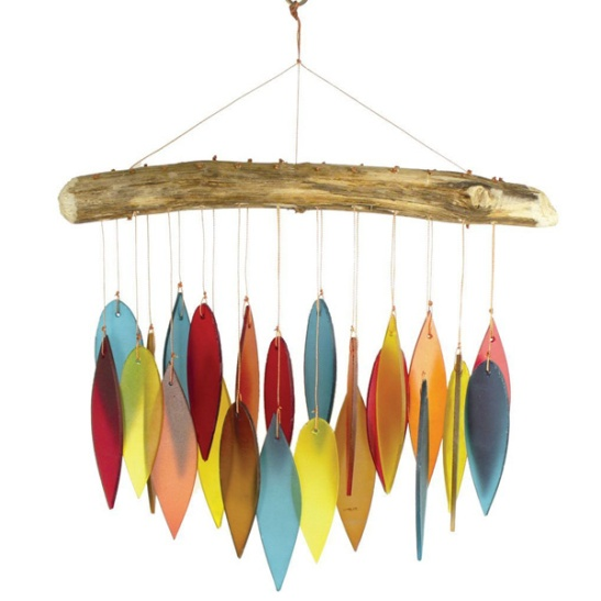 Santa Fe Colored Leaves Wind Chime