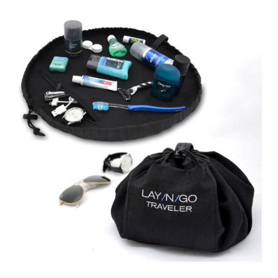 Traveler Toiletry Bag Lay-n-Go