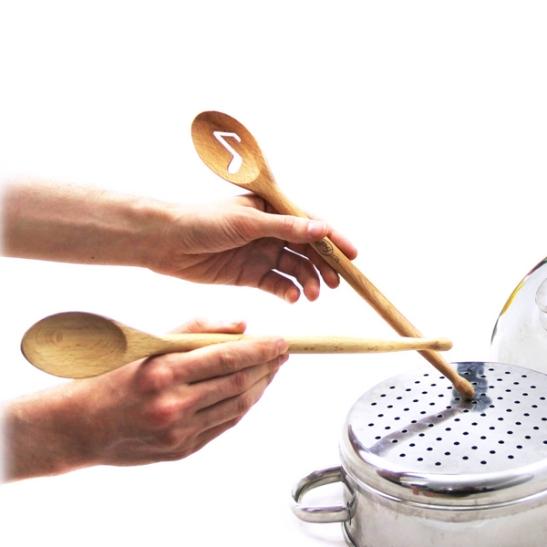 Mix Stix Drumstick Mixing Spoons