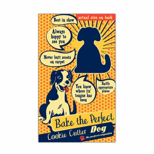 Bake The Perfect Dog Cookie Cutter by Talisman Designs