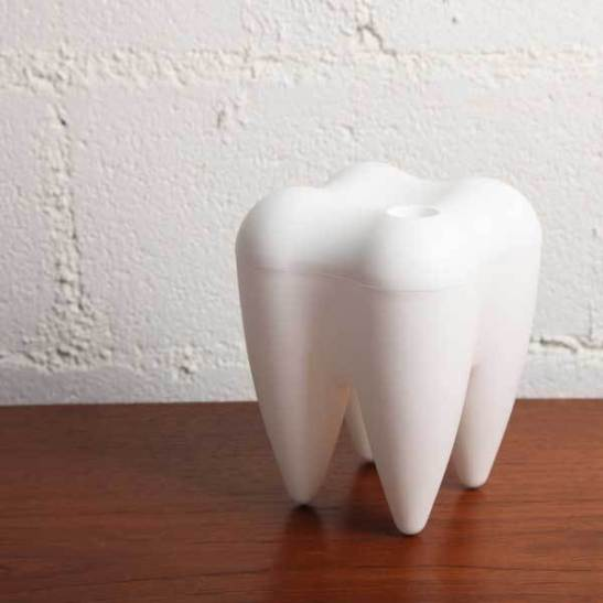 tooth sweets container