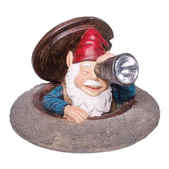 peeping gnome
