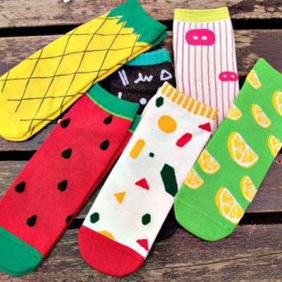 cute_20socks_20watermelon_20fruit_20pineapple_20bright_400sq