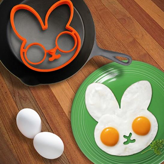 bunny egg mold