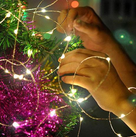 christmas decor string lights